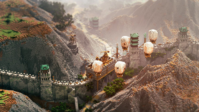 The Great Wall Minecraft Map | FREE DOWNLOAD