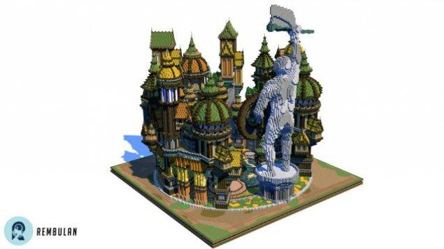 SchematicsMaps Chunkfactory - Minecraft mittelalter haus schematic